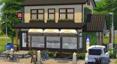 Парикмахерская + кафе