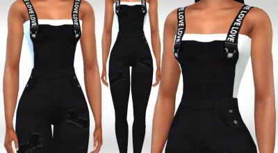Комбинезон Fashion Black