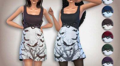 Платье Halloween Bat