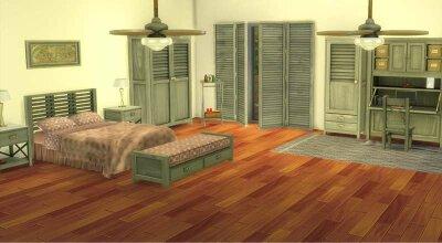Колониальная спальня