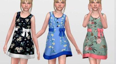 Платье для девочек Summer 02