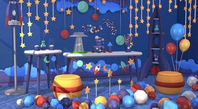 Набор декора Space Party