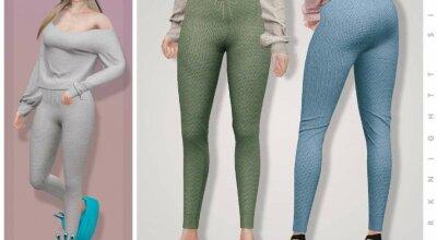 Вязаные штаны Knitted Lounge