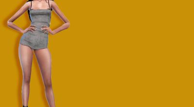 Мини платье MinimalSim