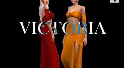 Весеннее платье Victoria