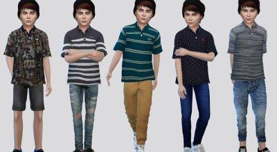 Детская рубашка Victor Polo