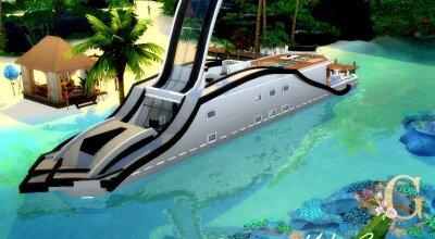 Яхта Serenity