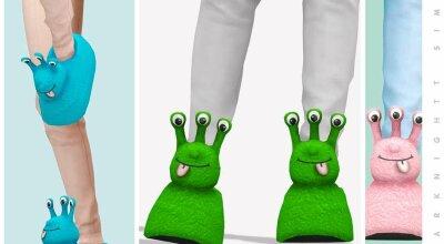 Тапочки Alien Slippers