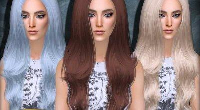 Длинные волосы Marina