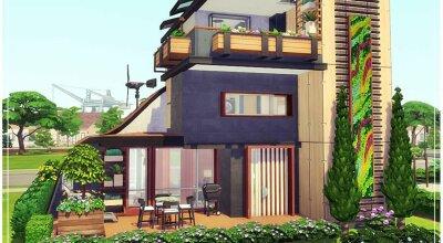 Маленький эко дом