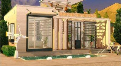 Экологичный дом Tiny Eco House
