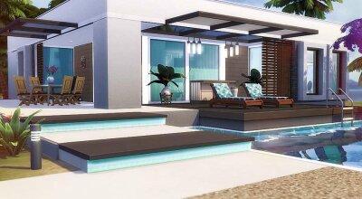 Дом с бассейном Stacy