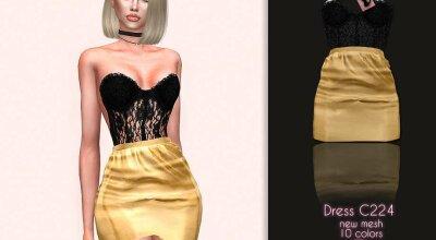 Платье C224