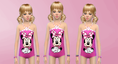 Детский купальник Minnie Mouse
