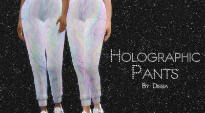 Штаны Holographic