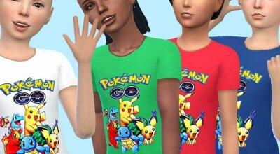Детская футболка Pokemon
