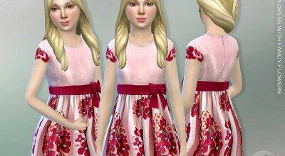 Детское платье Taffeta
