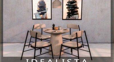 Обеденный комплект Idealista