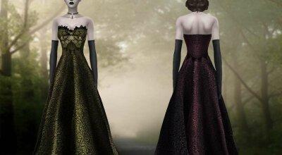 Платье Cursed