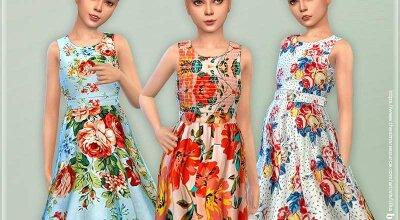 Платье для девочек P143