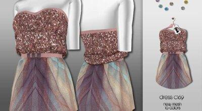 Платье C169
