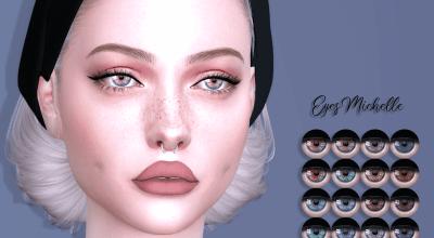 Глаза Michelle