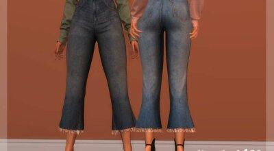 Широкие джинсы BT368