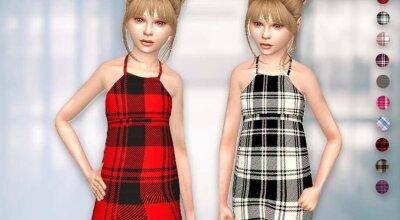 Платье Junior Plaid
