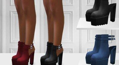 Ботинки на каблуке ShakeProductions 587