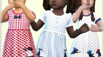 Платье для девочек N1