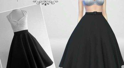 Набор юбок с блузкой