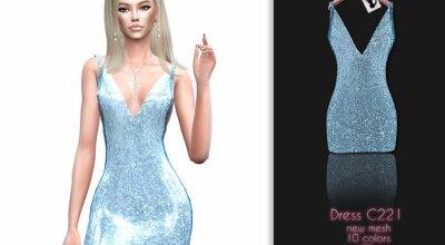 Платье C221