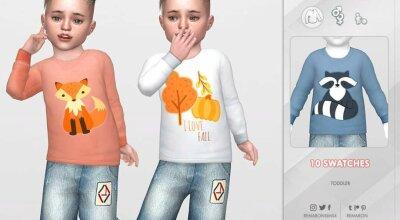 Осенний свитер 01