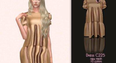 Платье C225