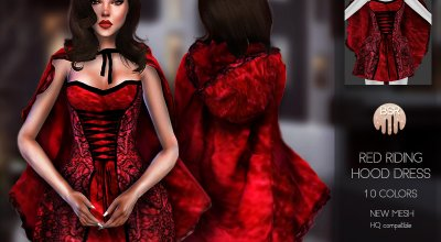 """Платье """"красная шапочка"""" BD110"""