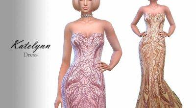 Платье Katelynn