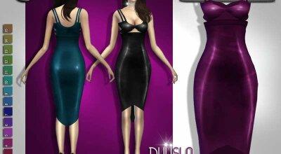 Кожаное платье Dulisla