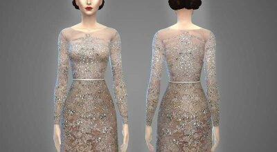 Платье Georgine