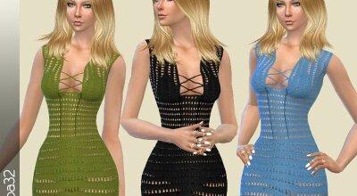 Платье Crochet Summer