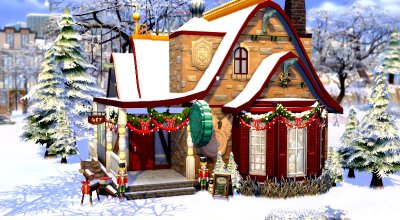 Рождественский магазин игрушек