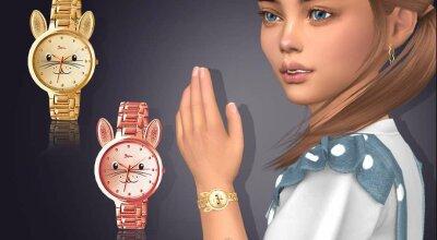 Часы для детей Bunny