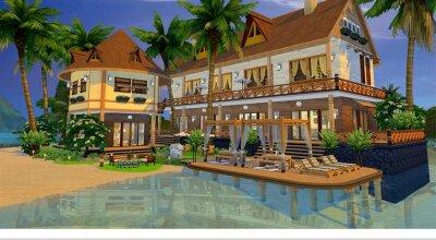 Пляжный дом Alona Beach