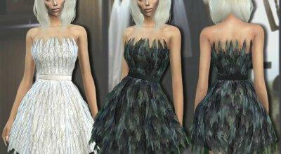 Платье Feather 307