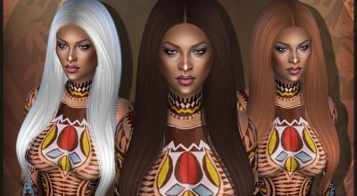 Волосы Naomi
