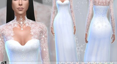 Кружевное платье Stella 1