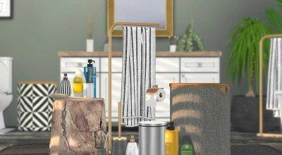 Декор ванной Erbium