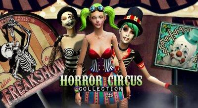 Коллекция цирк ужасов