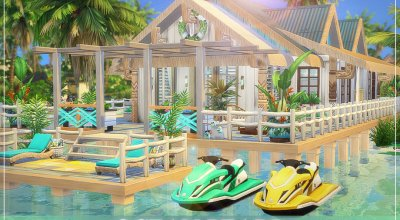 Пляжный дом Ocean Pearl