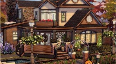 Осенний домик Perfect Autumn