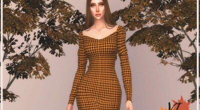 Осеннее платье Autumn VI